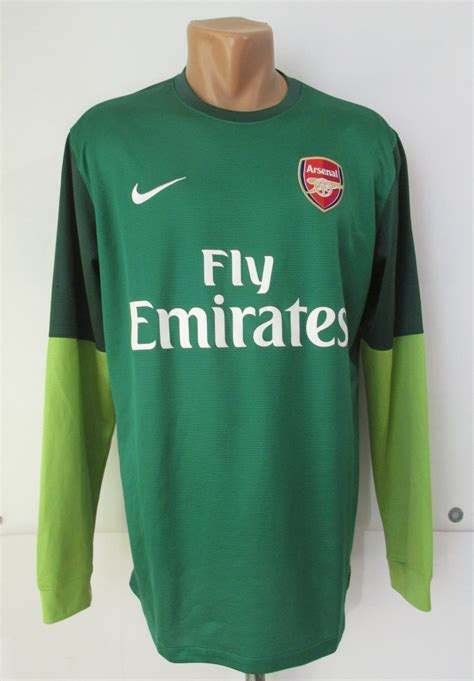 Arsenal Goalkeeper football shirt 2012 - 2013. Sponsored ...