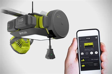 Ryobi Ultraquiet Garage Door Opener Hiconsumption