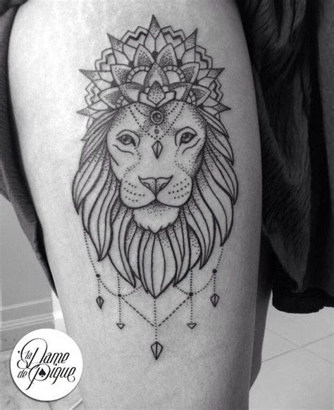 mandala lion ideas  pinterest mandala lion