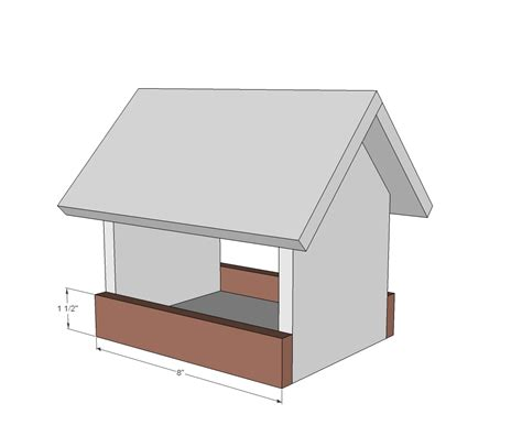 hopper bird feeder plans cardinal house learn