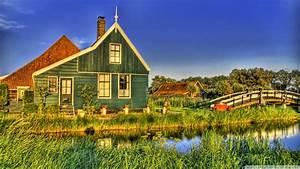 Download Holland Farmhouse Wallpaper 1920x1080