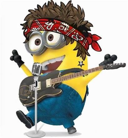 Minion Minions Rock Rockstar Star Quotes Guitar