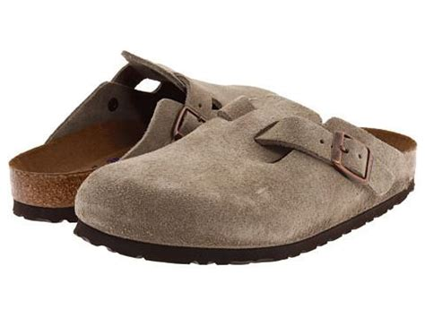 Sas Shoes Boston by Birkenstock Boston Clog Taupe Suede S Clothing