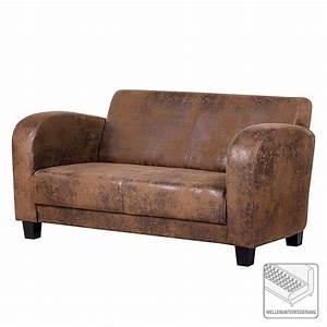 Sofa Günstig Online Kaufen : sofa tullow 2 sitzer antiklederoptik braun ars manufacti sofas g nstig kaufen ~ Indierocktalk.com Haus und Dekorationen