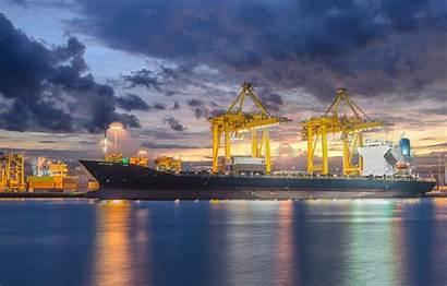 Ship Cargo Logistic Shipyard Container Import Crane