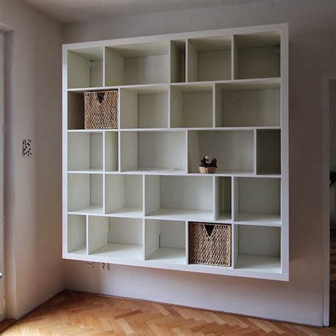 ikea cr馥 sa chambre étagère kallax ikea 69 idées originales de l 39 utiliser archzine fr