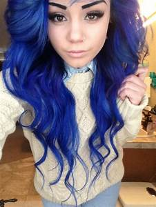 Blue hair ideas on Pinterest | Blue Hair, Unicorn Hair and ...