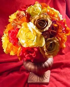 Autumn Rose Centerpiece HGTV