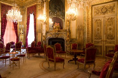 Great Dining Room Of The Napoleon Iii Apartments Second