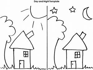 Day and Night Worksheet Template   Projects to Try ...