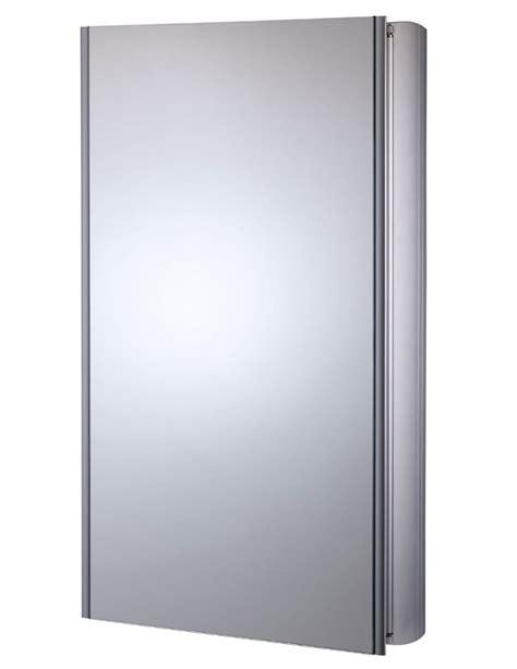 Roper Rhodes Limit Slimline Single Door Mirror Cabinet