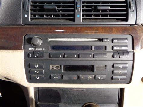 bmw e46 radio bmw e46 radio removal 3 series bmw repair guide