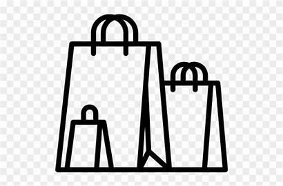 Shopping Icon Bags Clipart Trolleys