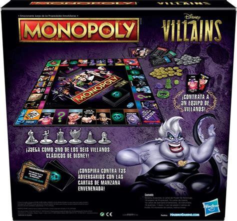 monopoly disney villains villain game hasbro win power help reveals gaming edition villanos each own courtesy intriper