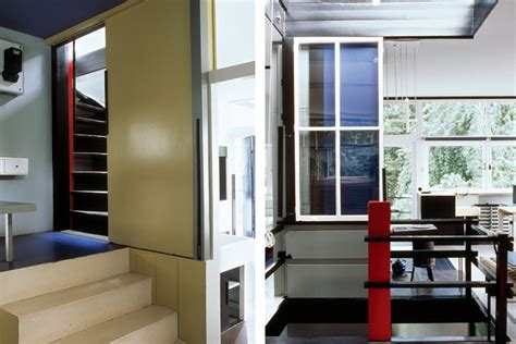rietveld schroeder house  utrecht   simple elegant  completely transformable home inhabitat green design innovation