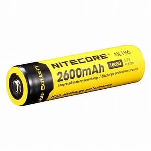 Nitecore 18650 3 7 V  2600 Mah Li