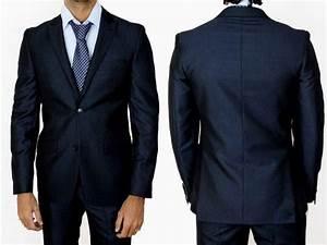 Costume Bleu Marine Homme : costumes pour homme en soldes mode homme blog monsieur mode ~ Melissatoandfro.com Idées de Décoration