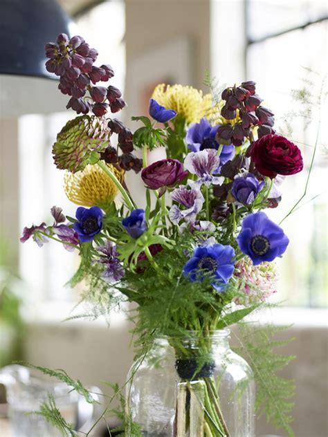 hanging bouquet bouquet recipe colour blocking with flowers