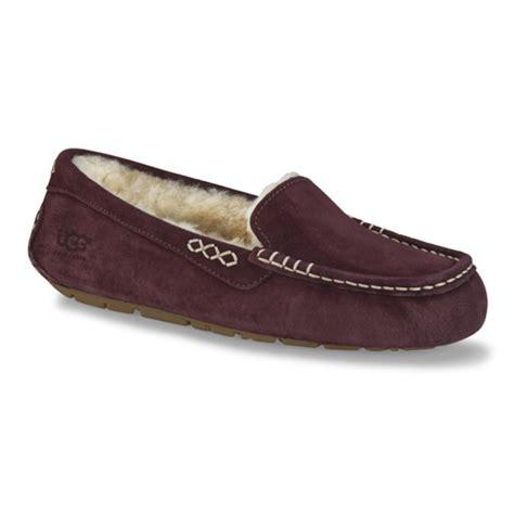 ugg womens ansley sale ugg ansley mahogany womens slipper shoesurfing com