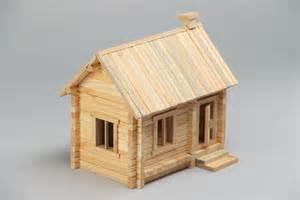 Maison D éveil : madeheart jeu de construction de maison en bois 184 pi ces jouet d 39 veil fait main ~ Teatrodelosmanantiales.com Idées de Décoration