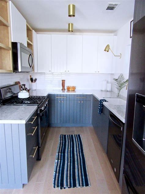 Kitchen Design Ideas Black Appliances by Silver Lake Small Kitchen Remodel Black Appliance Trend