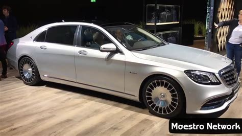 New 2018 Mercedesmaybach S560 4matic Facelift Revealed At