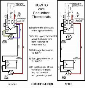 Electric Hot Water Heater Wiring Diagram