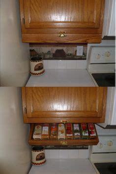 Fold Spice Rack by Kitchen Spice Rack Caravan Aid Cupboard