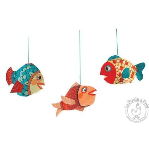 chambre à air 3 50 8 décoration à suspendre petits poissons djeco