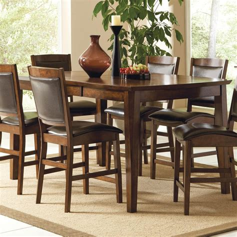 counter height table height counter height dining set with leaf into the glass
