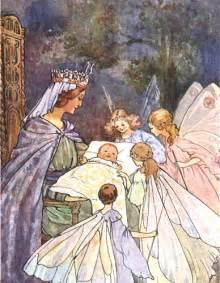 Sleeping Beauty and the Fairies