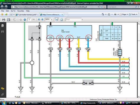 Trailer Wiring Harness Diagram Stream