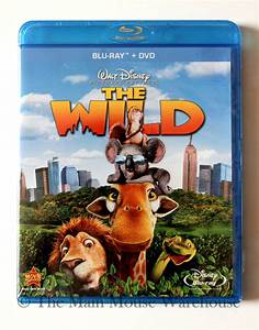 Disney The Wild Zoo New York Blu-ray & DVD Combo Pack ...