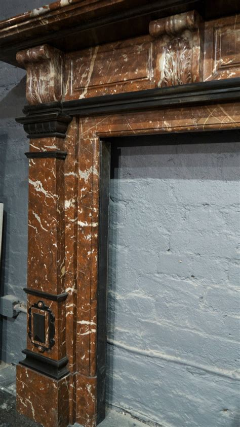 Original Late Victorian Marble Fireplace Surround At 1stdibs