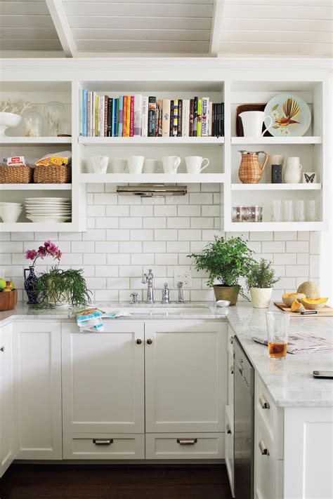 small kitchens with white cabinets all time favorite white kitchens southern living 8112