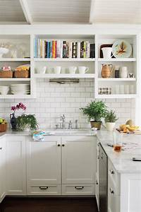all time favorite white kitchens southern living With kitchen colors with white cabinets with glass pumpkin candle holder