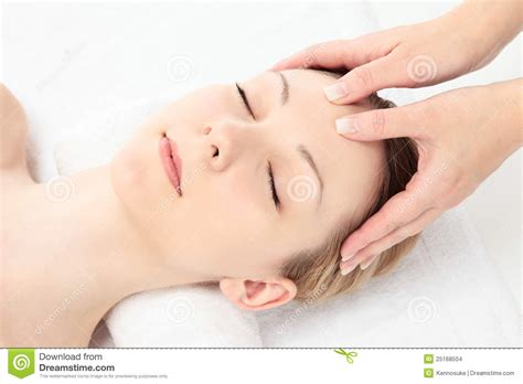 Facial Massage Stock Images Image 25168504