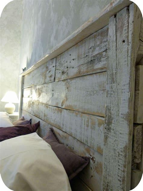 chambre palette bois tête de lit palette1 décoration home tete
