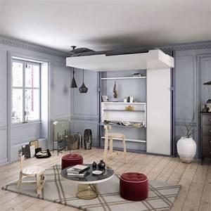 Lit Escamotable Plafond : lits escamotables espace loggia ~ Premium-room.com Idées de Décoration