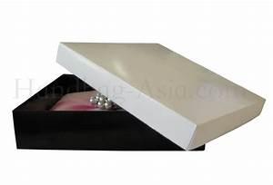 Black white mailing box for wedding invitation boxes for Wedding invitation mailing boxes