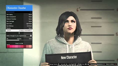 Gta Next Gen Female Character Creation!