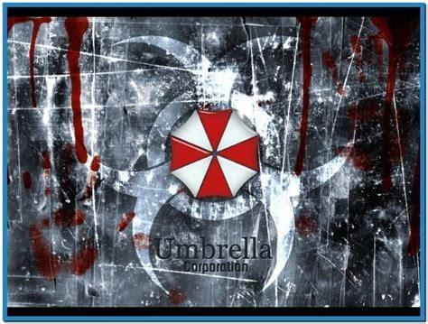 resident evil umbrella corporation screensaver