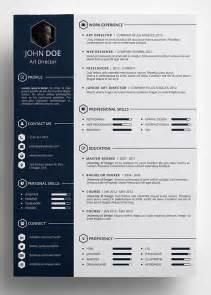 creative resume template word free 10 best free resume cv templates in ai indesign word psd formats