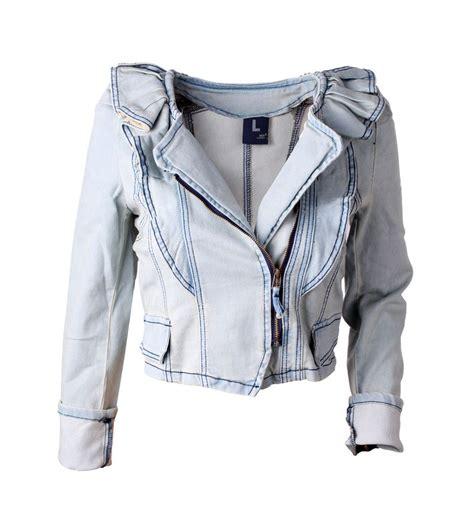 light denim jacket womens women 39 s lovely light blue flouncing denim jacket long