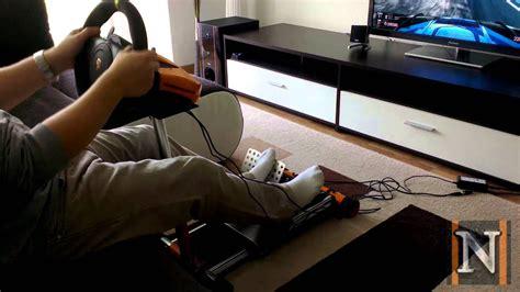 wheel stand pro gt deluxe  testrunde stabilitaetstest youtube