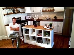 IKEA HACK - Kitchen Island DIY Project - YouTube