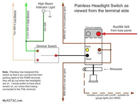 1994 dodge dakota headlight wiring diagram fuse box and