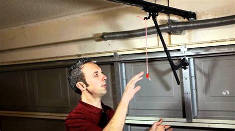 manual disengage  liftmastersears garage door opener