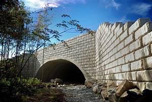 Vertical, Headwalls, And, Wing, Walls, For, Precast, Arch, Bridge, Construction