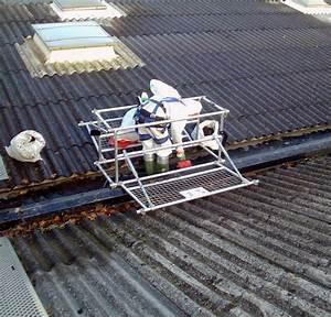 Renovation Toiture Fibro Ciment Amiante : amiante sur les toitures ~ Nature-et-papiers.com Idées de Décoration